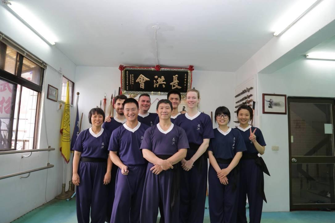 kung fu school taipei