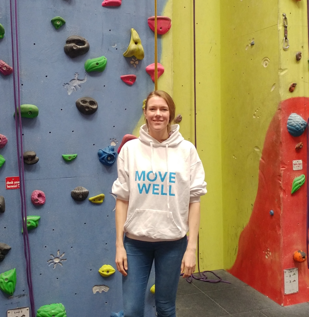 Image of Fiona inside Pinnacle Climbing Centre (Northampton)