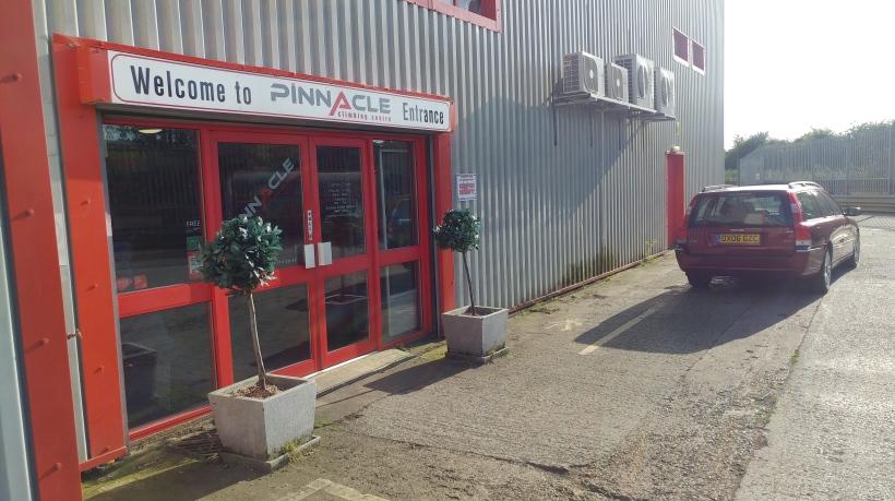 image of Pinnacle Climbing Centre (Northampton) entrance