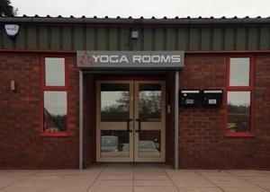 Image of Entrance to YogaRooms Studio, Lye, Stourbridge (image courtesy of YogaRooms Studio, Lye, Stourbridge)